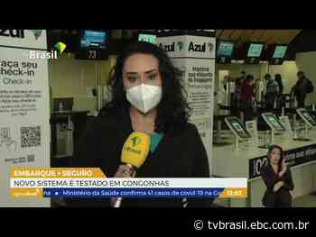 Novo sistema de embarque é testado em Congonhas | Repórter São Paulo | TV Brasil | Notícias - EBC