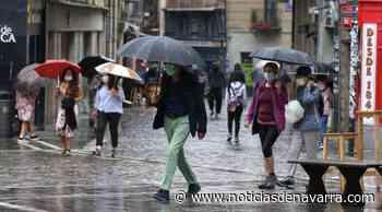 Lluvias torrenciales descargan sobre Pamplona en una jornada de tormentas generalizadas en Navarra - Noticias de Navarra