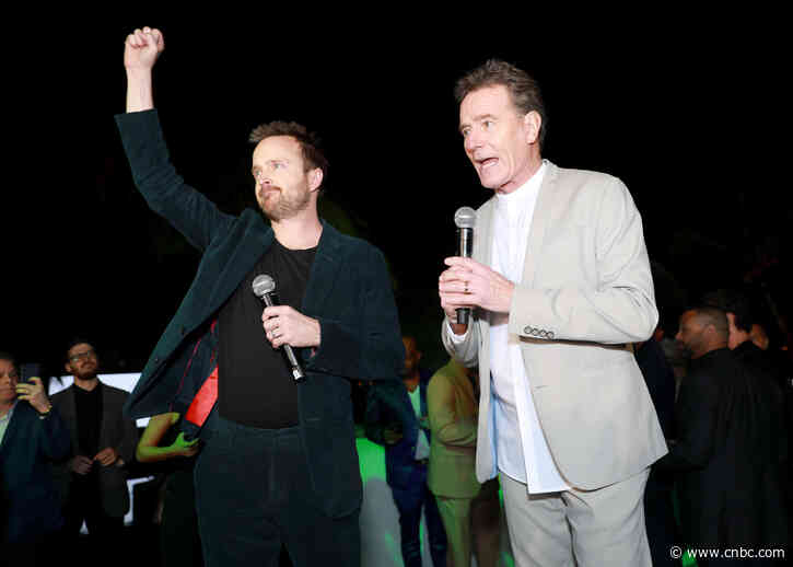 Constellation Brands invests in Bryan Cranston and Aaron Paul's mezcal - CNBC