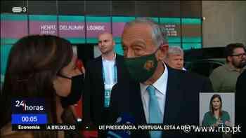 Euro2020. Marcelo Rebelo de Sousa muito satisfeito com vitória de Portugal - RTP