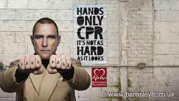VINNIE JONES AND BRITISH HEART FOUNDATION REUNITE - News - Barnsley Football Club - barnsleyfc.co.uk