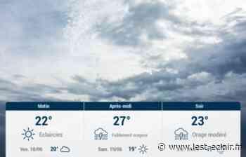 Romilly-sur-Seine et ses environs : météo du jeudi 17 juin - L'Est Eclair