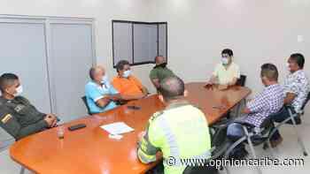 En Ariguaní se ejecutó mesa de trabajo con altos mandos de la Policía - Opinion Caribe