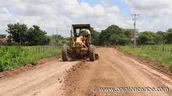 En Ariguaní realizaron trabajos en vías terciarias - Opinion Caribe