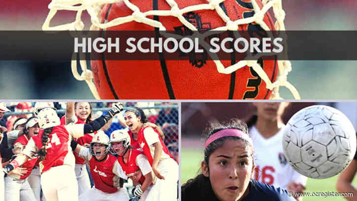 Orange County scores and player stats for Thursday, June 17