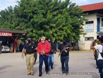 Traficante de Pontes e Lacerda que estava foragido é preso em mansão na Bolívia - Cáceres Noticias