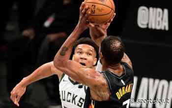 """NBA, anche Antetokounmpo rende onore a Durant: """"E' il miglior giocatore al mondo"""" - Sky Sport"""