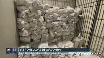 Polícia apreende caminhão com 5,6 toneladas de maconha em Itirapina - G1