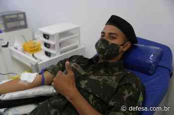 Batalhão mobiliza 66 militares para doação de sangue em Ponta Grossa (PR) - Defesa - Agência de Notícias