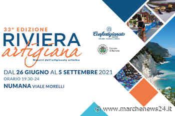 Numana, 'Riviera Artigiana': dal 26 giugno al 5 settembre la 33esima edizione - Marche News 24