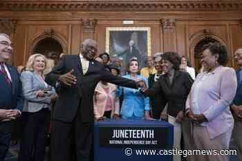 Biden to sign bill making Juneteenth a federal holiday - Castlegar News