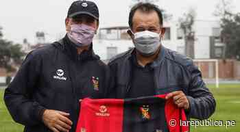 Juan Reynoso visitó a Melgar tras salir campeón de la liga mexicana - LaRepública.pe