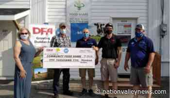 Dundas farm groups team up with $1,500 donation to Community Food Share | Nation Valley News - Nation Valley News
