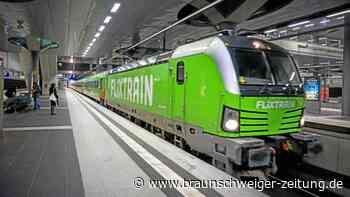 Mehr Fahrten, neue Strecken: Flixtrain macht Bahn Konkurrenz