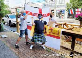 Scotland fan meets England fans in Steveston, Richmond - Richmond News