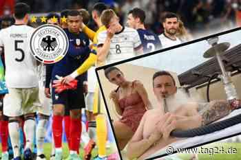 Mit Shisha und Freundin im Whirlpool: Max Kruse analysiert DFB-Niederlage! - TAG24