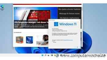 First Look Windows 11: Windows-10-Nachfolger geleakt