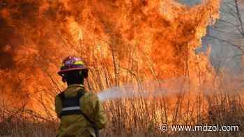 Tarde fría y con fuego: tres casas incendiadas en Godoy Cruz - MDZ Online