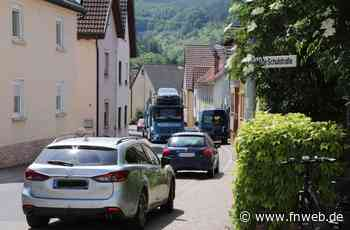 Edelfinger wehren sich gegen wachsenden Verkehr - Bad Mergentheim - Nachrichten und Informationen - Fränkische Nachrichten
