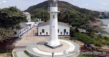 Farol Santa Luzia, em Vila Velha, é fechado para obra de restauro - A Gazeta ES
