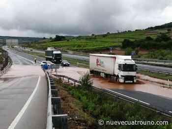 Todas las incidencias por las tormentas de este jueves en La Rioja - NueveCuatroUno