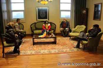 Se acordaron acciones con la Universidad Nacional de La Rioja - Argentina.gob.ar Presidencia de la Nación