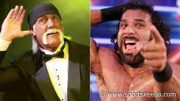 Jinder Mahal names Hulk Hogan and former WWE opponent on his wrestling Mount Rushmore - Sportskeeda