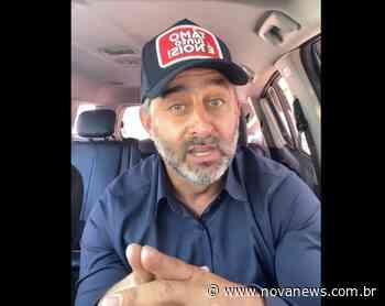 """Em live, prefeito de Ivinhema """"manda recado"""" e """"bate boca"""" com - Nova News"""
