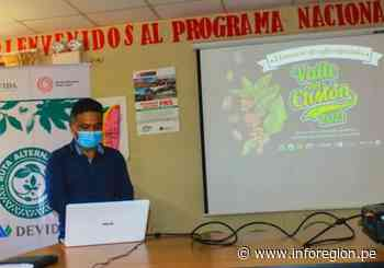 """Huánuco: Alistan lanzamiento del """"I Concurso de cafés – Valle del Cholón 2021″ - INFOREGION"""