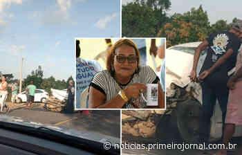 Mulher morre em acidente no trecho entre Alcobaça e Teixeira de Freitas - - PrimeiroJornal