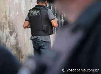 Suspeito de homicídio qualificado é preso em Teixeira de Freitas - Voz da Bahia