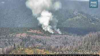 Ten Fire is burning near Stirling City - Action News Now