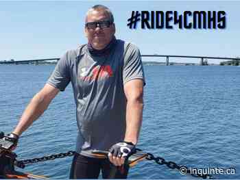 INQUINTE.CA   Man biking from Stirling to the County in support of children's mental health - inquinte.ca