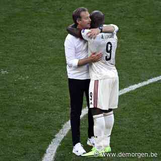 Lukaku omhelst Deense coach na affluiten: 'Ik ben hen eeuwig dankbaar'