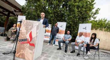 VIDÉO. Jean-Guy Talamoni en meeting à Bastia - Corse-Matin