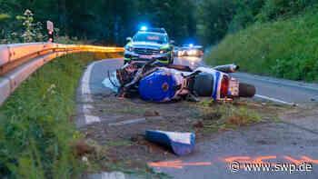 Motorradunfall in Geislingen: Unfall auf Weiler Steige endet tödlich - SWP