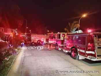 En Mazatlán, reporte de derrame químico en Real Pacífico moviliza a cuerpos de emergencia - Noroeste