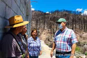 Alcalde de Santiago supervisa y lleva apoyos a la sierra - POSTA