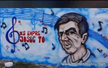 El popular personaje correntino 'Josecito del Belgrano' ya tiene su mural - CorrientesHoy.com