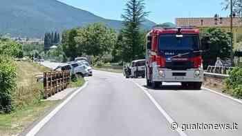Gualdo Tadino: incidente stradale a Torre dei Belli, coinvolte due vetture - Gualdo News