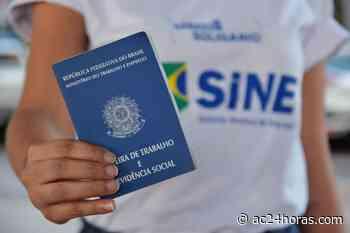 SINE do Acre recebe R$ 19,8 mil do Fundo de Amparo ao Trabalhador em 2021 - ac24horas.com