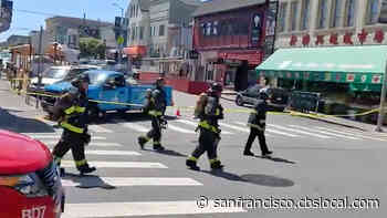 UPDATE All Clear Given After Gas Leak In San Francisco's Inner Richmond - CBS San Francisco