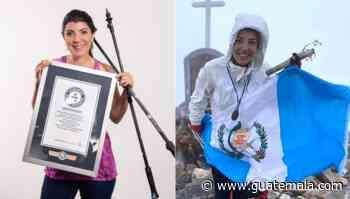 Bárbara Padilla consiguió un nuevo récord mundial Guinness en el volcán Tajumulco - Guatemala.com