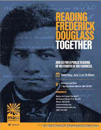 Reading Frederick Douglass Together - Saturday, July 3 | Dartmouth - Dartmouth Week
