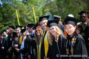 2021: UMass Dartmouth graduates honored on campus during Commencement Weekend - UMass Dartmouth