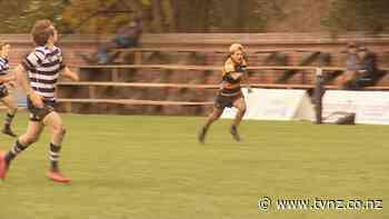 Inspirational Marlborough teen a star in rugby and athletics despite being born with underdeveloped arm - 1News