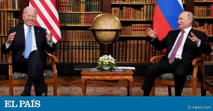 La cumbre entre Joe Biden y Vladímir Putin en Ginebra, en imágenes - EL PAÍS