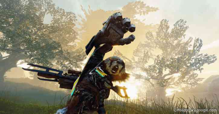 """What we're playing: Biomutant's ambitious post-apocalyptic """"Kung-Fu fable RPG"""" on Mac"""