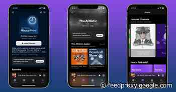 Hands-on: Here's how Apple Podcasts Subscriptions and channels work on iPhone