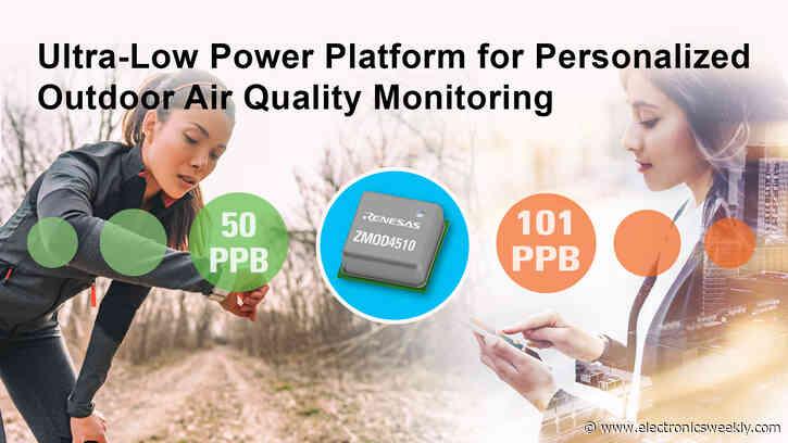 Outdoor air quality sensor